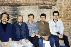 con Antonio Marangolo, Zlatko Kaucic, Marco Tam- burini, Achille Succi