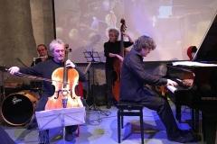 con Mario Brunello, Stefano Nanni, Gianluca Nanni