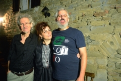 con Paola Sabbatani, Daniele Santimone