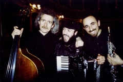 con Emiliano Rodriguez, Simone Zanchini