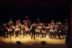 con l'orchestra VBOB di Imola