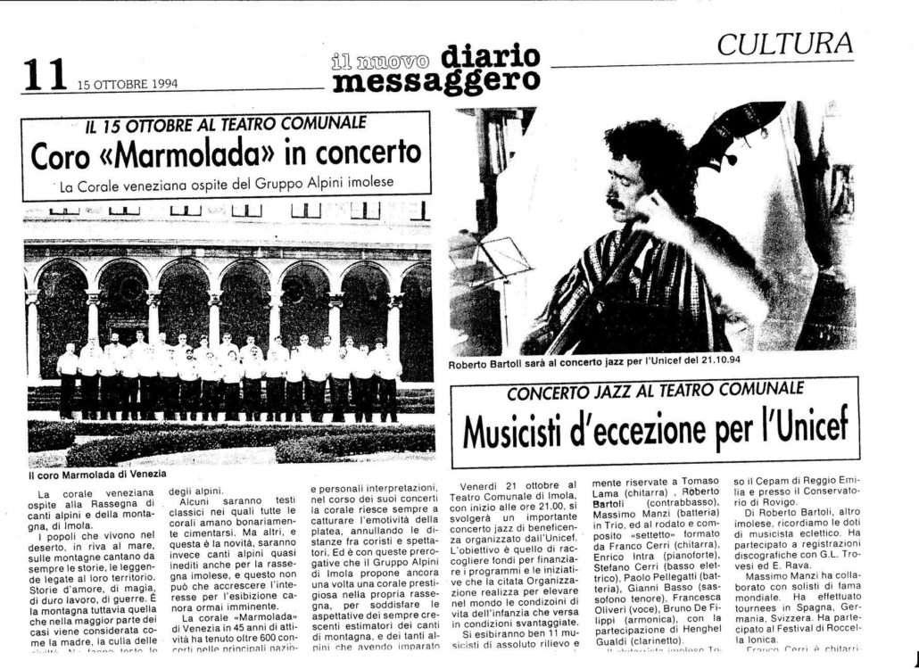 Il nuovo diario messaggero 15.10.1994